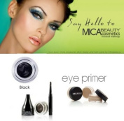 Mica Beauty Cosmetics Mineral Makeup Gel Eyeliner Noir + Eye Primer + Aviva Eco Nail File