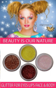 "ITAY Mineral Cosmetics Glitter Eye Shimmer Set ""Nature Shines"" - GES06"