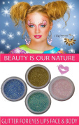 "ITAY Mineral Cosmetics Glitter Eye Shimmer Set ""Pixie Dust"" - GES04"