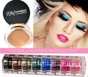 Itay Mineral 9 Stacks Shimmer Best 4 Brown Eyes + Eye Primer + Cala Mineral Dispenser Brush 77120