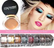 Itay Mineral 9 Stacks Shimmer Best 4 Green Eyes + Eye Primer + Cala Mineral Dispenser Brush 77120