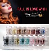 "ITAY All-Natural Mineral 8-Stack Eye Shimmer ""Terra Linda"" & ""Paris Lights"""