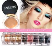 Itay Mineral 9 Stacks Shimmer Best 4 Blue Eyes + Eye Primer + Cala Mineral Dispenser Brush 77120