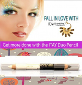 "ITAY Mineral Cosmetics Eye Liner Duo Pencil ""Day & Night"" - DP01"