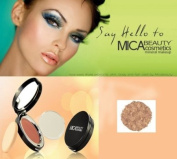 """MicaBeauty Mineral Pressed Bronzer FB5.1cm Neutral"""" + Aviva Eco Nail File"""