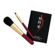 Kumano Fude Kumano Make up Brush KFi-50R Cheek and Shadow Brush set