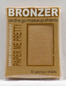 Mary-Kate & Ashley Paper Me Pretty Bronzer Makeup Sheets - Natural Beauty #815