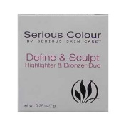 Serious Colour Define & Sculpt Highlighter & Bronzer Duo