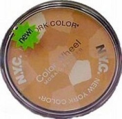 New York Colour Wheel Mosaic Face Powder, #722A Translucent Highlighter Glow - 1 Ea, Pack of 2