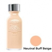 Loreal True Match Super-blendable Liquid Makeup, Neutral Buff Beige - 1 Ea