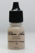 Glam Air Airbrush S5 Natural Olive Beige Satin Foundation Water-based Makeup (979)