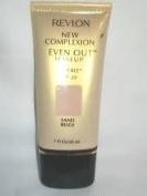 Revlon New Complexion Even Out Makeup Sand Beige 1 Fl Ounce