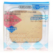 IDA Laboratories CANMAKE   Powder Foundation   UV Silky Fit Foundation Refill 02 Ocher