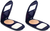 Covergirl Smoothers Aquasmooth Compact Foundation, Creamy Natural 720, 10ml, 2 Ea