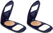 Covergirl Smoothers Aquasmooth Compact Foundation, Ivory 705, 10ml, 2 Ea