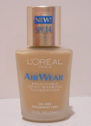 L'OREAL AIR WEAR BREATHABLE CREME LONG-WEARING FOUNDATION #20 BEIGE
