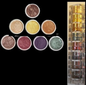"Micabella Mineral 8stacks Eye Shadow ""A-viva-green Eyes"