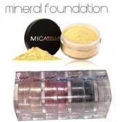 Micabella Mineral Makeup Foundation #2 Sandstone 9 Gramme Full Size +3 Stacks Glory