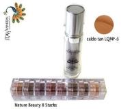 ITAY Beauty Mineral Flawless Liquid Foundation Caldo Tan #LQMF-6 +8 Stacks Colour