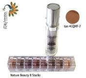ITAY Beauty Mineral Flawless Liquid Foundation Tan #LQMF-7 +8 Stacks Colour