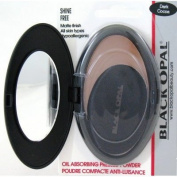 Black Opal Pressed Powder Shinefree Dark Cocoa