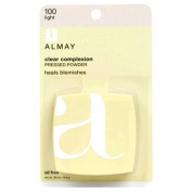 Almay Clear Complexion Pressed Powder, Light 100, 10ml Packages