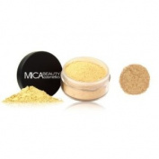 "Mica Beauty Natural Mineral Makeup Loose Powder Foundation ""MF3 Toffee"" 9g + Sample Travel Size 2.5g Loose Powder Foundation"