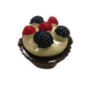 Lip Gloss Naughty but Nice Wild Berry in Cupcake Shaped Container