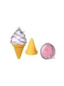 Ice Cream Lip Gloss Key Chain