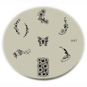Konad Stamping Nail Art Image Plate - M41