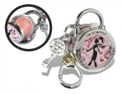 Twist and Pout French Twist Lock Charm with Pink Shimmer Gloss, Citrus, 40ml