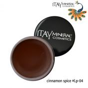 "ITAY Beauty Mineral Cosmetics Nourishing Colour Lip Pot ""Cinnamon Spice"" - 04"