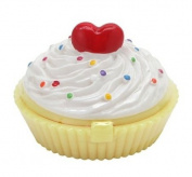 KOREAN COSMETICS, ENPRANI_ HolikaHolika, Dessert Time Lip Balm 7g # 03 peach cupcake (peach-scent)[001KR]