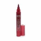 New York Colour Smooch Proof Lip Stain, Rock On Ruby, 0.1 Fluid Ounce