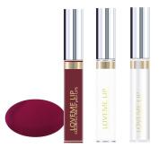 LoveMe Lip Colourful Ink for Your Lips KIT (Colour, Moisturising Gloss, Remover) - Blue Claret