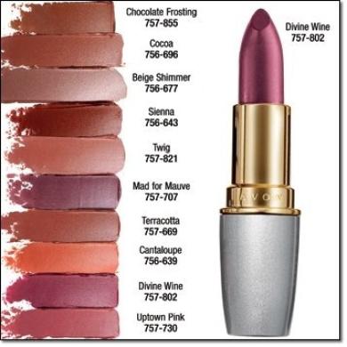 Avon Beyond Colour Lipstick Plumping Divine Wine