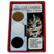 Cat/Animal Tri-Colour Makeup Kit