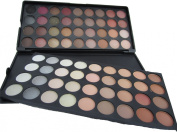 NEW!!! ML Collection 72 Colour Eyeshadow Palette Warm Neutral Eye Shadow Colours more variety