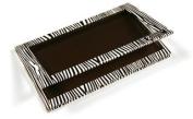 Z Palette Empty Magnetic Customizable Makeup Palette Large, Zebra, 1 ea