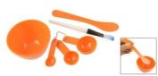 Homemade Face Mask Bowl Brush Gauge Stick Set 10cm 1