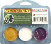 Sports Makeup Kit White, Gold, Purple