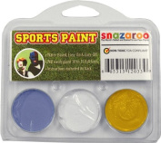 Sports Makeup Kit White, Pastel Blue, Gold