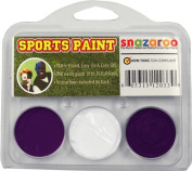 Sports Makeup Kit White, Purple, Purple