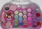 POP Butterfly Princess Beauty Cosmetic Set Girls Make-up Lip Gloss Shadow Makeup
