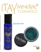 ITAY Mineral Cosmetics Liquid Sparkle Bond + Glitter Powder G8 Green Glitz