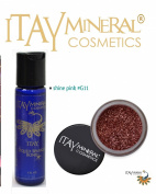ITAY Mineral Cosmetics Liquid Sparkle Bond + Glitter Powder G11 Shine Pink