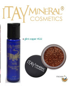 ITAY Mineral Cosmetics Liquid Sparkle Bond + Glitter Powder G12 Glint Copper