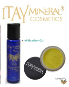 ITAY Mineral Cosmetics Liquid Sparkle Bond + Glitter Powder G13 Twinkle Yellow