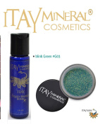 ITAY Mineral Cosmetics Liquid Sparkle Bond + Glitter Powder G3 Blink Green