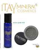 ITAY Mineral Cosmetics Liquid Sparkle Bond + Glitter Powder G5 Silver Sparkle